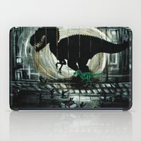 dinosaur iPad Cases featuring dinosaur by mass confusion