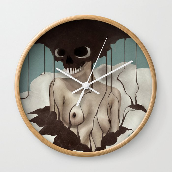 Death By Chocolate Wall Clock
