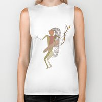 hunting Biker Tanks featuring Hunting Party by BohemianBound