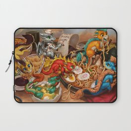 The Noodle Dragons Bowl Laptop Sleeve