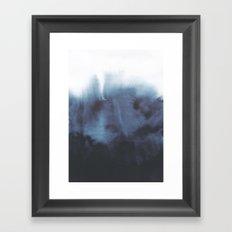 Talk me down Framed Art Print
