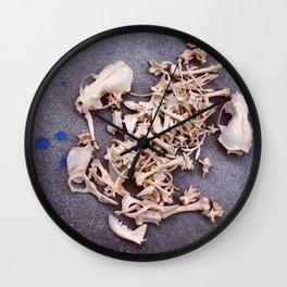 Skulls & Bones Wall Clock