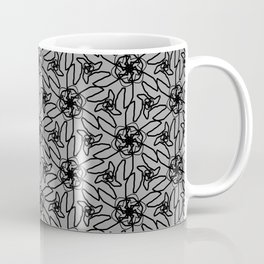 Gray Skies Sunflowers Coffee Mug