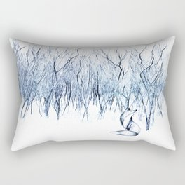 Be present in this moment. Rectangular Pillow