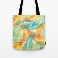 palms Tote Bags featuring Palms by Guilherme Rosa // Velvia