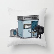 Take a Shoot Throw Pillow