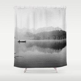 Zeitlos Shower Curtain