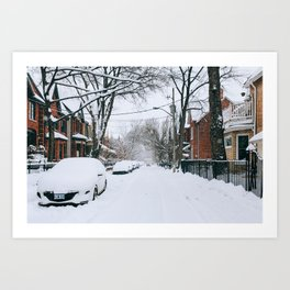 Cabbagetown - Toronto, Canada - #2 Art Print