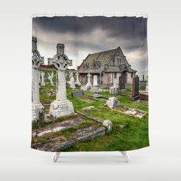 Saint Tudno Llandudno Shower Curtain