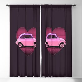 The Neon PInk 500 Car Lover Blackout Curtain