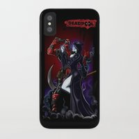 thanos iPhone & iPod Cases featuring Deadpool by Dee9922