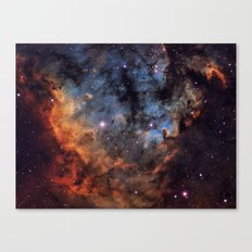 The Devil Nebula Canvas Print
