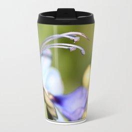 Clerodendrum Ugandense or Blue Butterfly Bush Travel Mug
