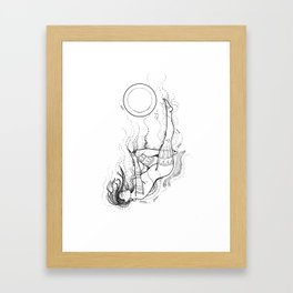 Mother of the sea.... Framed Art Print