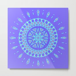 Mini mandala Metal Print