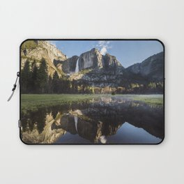 Sunrise over Yosemite Falls Laptop Sleeve