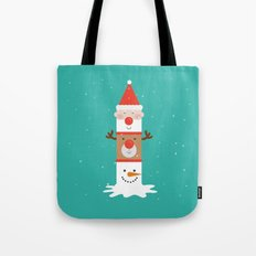 Day 11/25 Advent - Holiday Totem Tote Bag