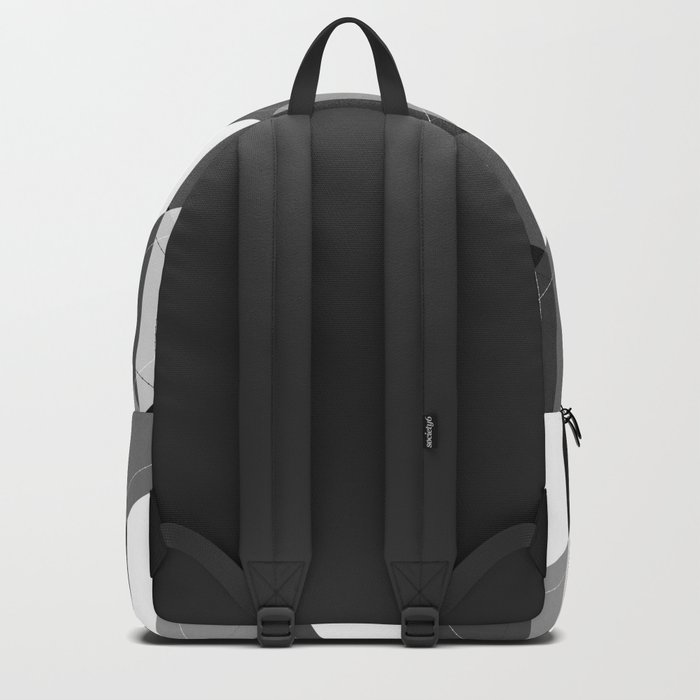Black and white , abstract 15 Backpack