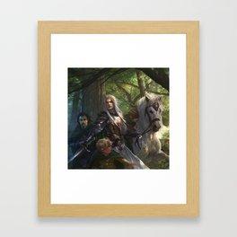 Glorfindel Framed Art Print