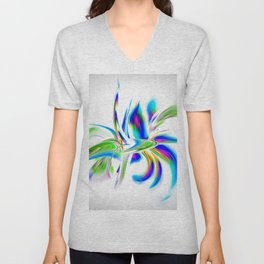 Abstract perfection - Flower Magical Unisex V-Neck