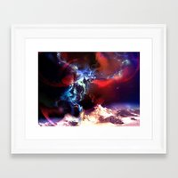magic the gathering Framed Art Prints featuring Celestial Force - Magic: The Gathering by vmeignaud
