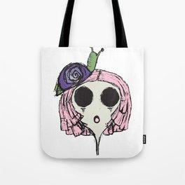 Snail Girl Tote Bag