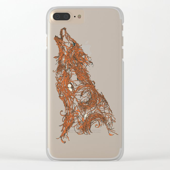Born To Be Natural Clear iPhone Case