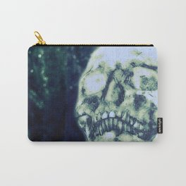 Glitter Skull Carry-All Pouch