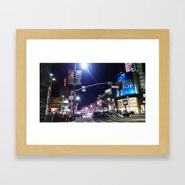 Hollywood Blvd Two Framed Art Print