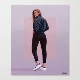Model Canvas Print