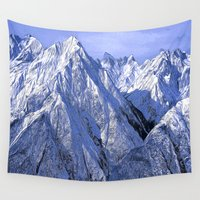 giants Wall Tapestries featuring Giants by Robin Curtiss