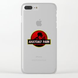 Anatomy Park Clear iPhone Case