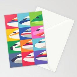 Retro Airline Nose Livery - USA Stationery Cards