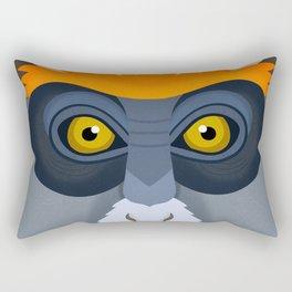 De Brazza's Monkey Rectangular Pillow