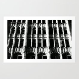 SPOOKY. Art Print