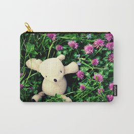 Clover Fields Carry-All Pouch