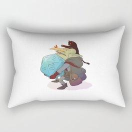 Goblin and his cat Rectangular Pillow