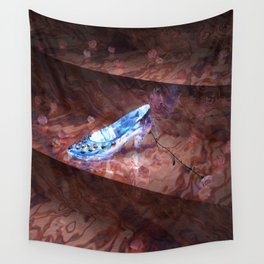 Cinderella's Little Glass Slipper Wall Tapestry