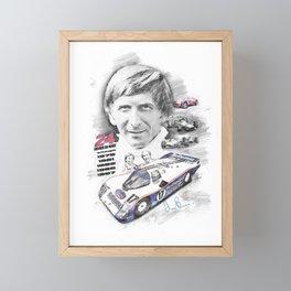 Derek Bell Framed Mini Art Print