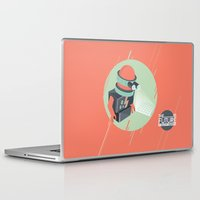 holographic Laptop & iPad Skins featuring Future is Hollow Graphics by RJ Artworks