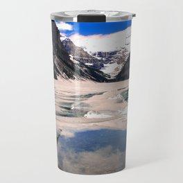 Lake Louise Victoria Glacier Alberta Canada Travel Mug