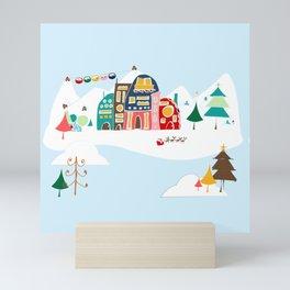 Chalet Mini Art Print