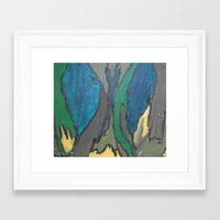camo Framed Art Prints featuring Camo by Kristin Rodgers