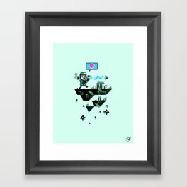 Major Jolt Framed Art Print