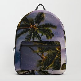 Palm Trees and Stars in Maui Backpack