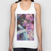 fight Tank Tops featuring Fight! by Anna Gogoleva