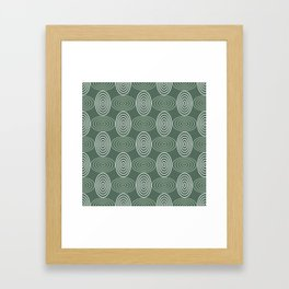 Op Art 66 Framed Art Print