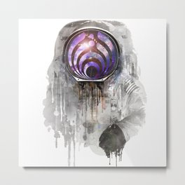 dj astronout Metal Print