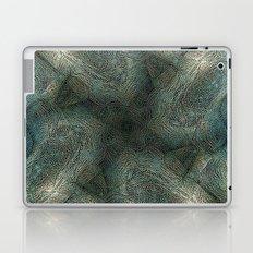 Graphic symmetric design background Laptop & iPad Skin