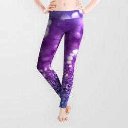 Unicorn Girls Glitter #19 #shiny #decor #art #society6 Leggings